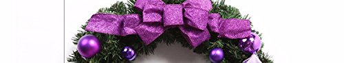 Christmas Garland for Stairs fireplaces Christmas Garland Decoration Xmas Festive Wreath Garland with Wreath of Christmas wreath,60cm