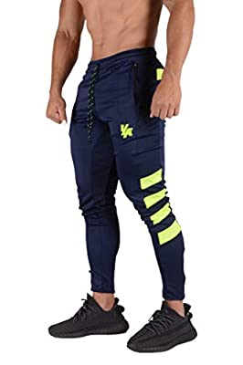 YoungLA Mens Soccer Training Pants Tapered fit 5 Colors 201