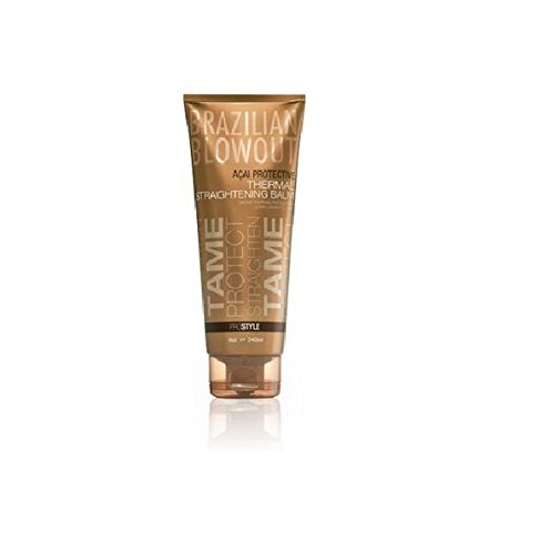 Brazilian Blowout Thermal Straightening Balm, 8 Ounce