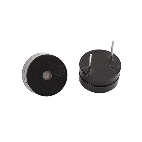 Aexit 15pcs DC 5V Active Buzzer Magnetic Continous Beep Tone Alarm 12mm x 6.5mm by Aexit (Image #2)