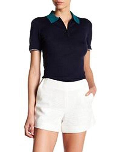 056f11a9 Rag & Bone Alice Colorblock Half-Zip Polo Shirt, Navy XS by rag &