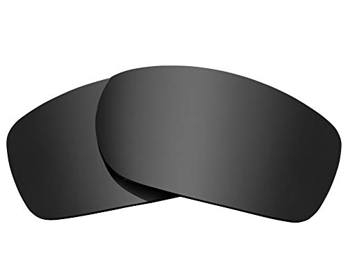 Replacement Lenses Compatible with OAKLEY Fives Squared Polarized Black Iridium (Oakley Five Replacement Lens)