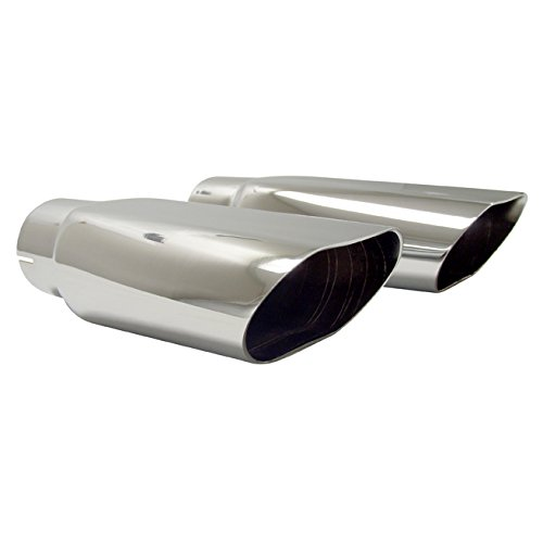 1969-72 Chevelle SS Chrome Exhaust Tips, Pair, OEM Type IMPALA BOBS