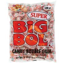 Albert's SUPER SIZE BIG BOL Candy Bubble Gum 120 count]()