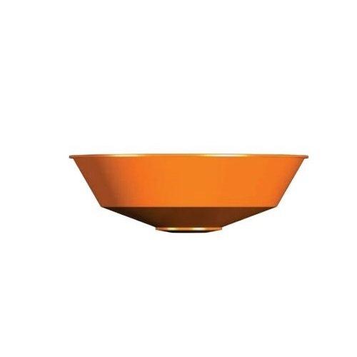 "Guardian Equipment 100-009ORG-R, 12"" Orange ABS Plastic Bowl"