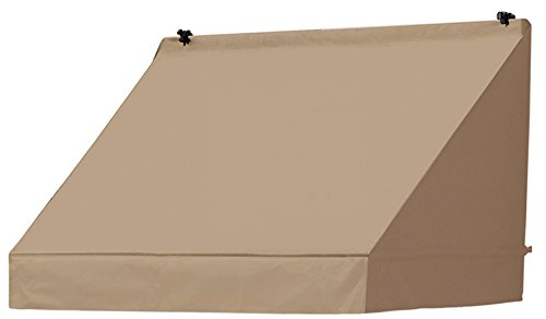 Awnings in a Box 3020733 Retractable Window Awning, 4', Sand