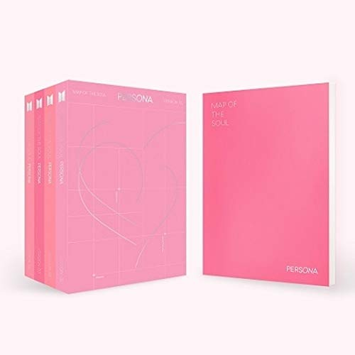 BTS MAP of The Soul : Persona (Version 2) Album + Folded Poster