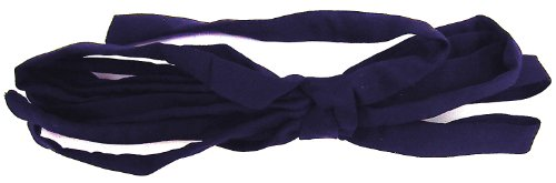 Laceeis Tie / Lace-up Replacement Bridal Gown Satin Navy Blue 140 inch