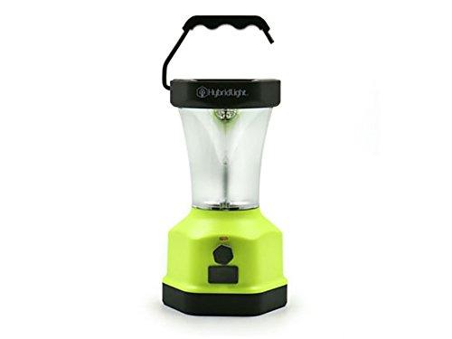 Hybrid Lantern - Solar Hybrid LED Lantern, Battery Backup, USB Charger, Regular Size