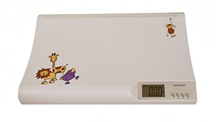 Silvercrest – Báscula digital para bebés hasta 20 kg grandes deutliche pantalla LCD, certificado TÜV