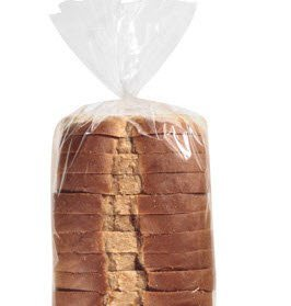 Bundleofbeauty Jk96r - Superior Quality Extra Thick Clear 100 Expandable Bread Loaf Bags Bakery Donut Bagel Bags (8 X 4 X 18inches)