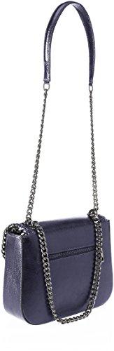 Chicca Borse 8810, Borsa a Spalla Donna, 24x20x8 cm (W x H x L) Blu (Blue)