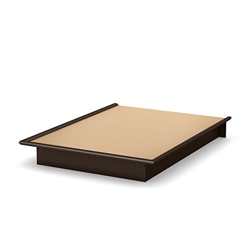 South Shore Furniture Step One Full Platform Bed, Chocolate, used for sale  Delivered anywhere in Canada