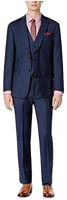 Calvin Klein Extreme Slim Fit Navy Solid 100% Wool New Men's Sport Coat