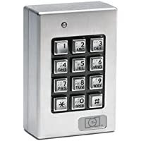 Linear 232SE LLC Indoor/ Outdoor Surface mount Weather Resistant Keypad, 12 to 24V AC/DC, 3.00 Width, 4.50 Height