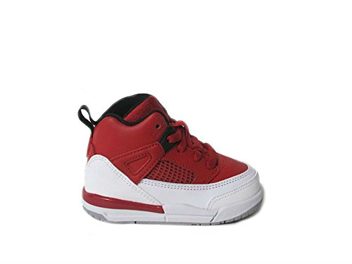 Nike Jordan Spizike BT Toddler Basketball Shoes Gym Red/Black/White/Wolf Grey 317701-603 (7 M US) - Fusion Jordan Shoes