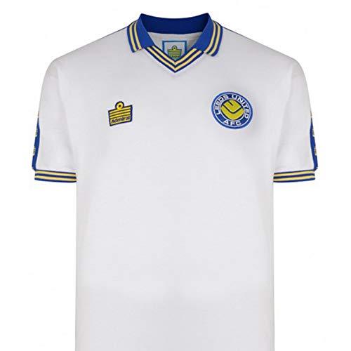 Leeds United 1978 Admiral Retro T-Shirt (S) (White/Blue/Yellow)
