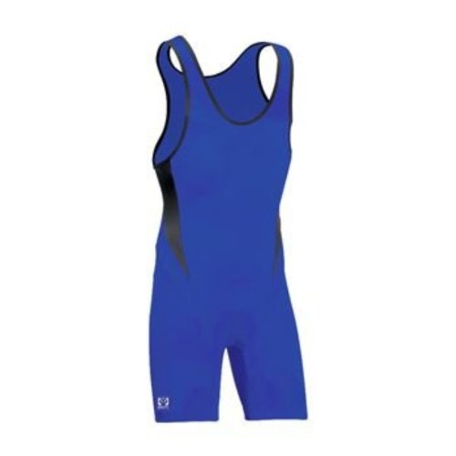 High Cut Lycra Singlet - Brute Bolt High Cut Lycra® Wrestling Singlet
