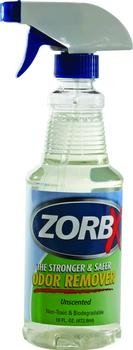 ODOR REMOVER UNSCENTED 16OZ [Qty 1 (Single)] by Zorbx Inc (Each) by ZORBX