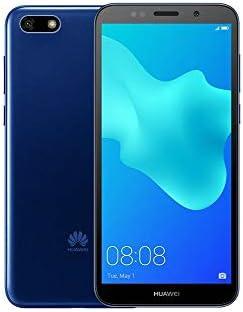 Huawei Y5 2018 DRA-L23 Dual SIM FullView Display 5.45″ 4G LTE Quad Core 16GB 8MP Smartphone Factory Unlocked Android GO (International Version- No Warranty) (Blue)