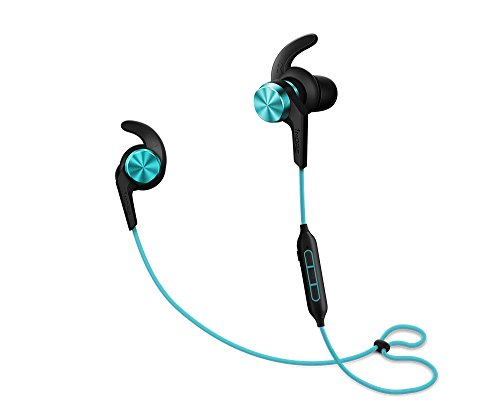 Price comparison product image 1MORE iBFree Bluetooth In-Ear Wireless Sport Headphones (Earphones/Earbuds/Headset) with Apple iOS and Android Compatible Microphone and Remote (Aqua Blue)