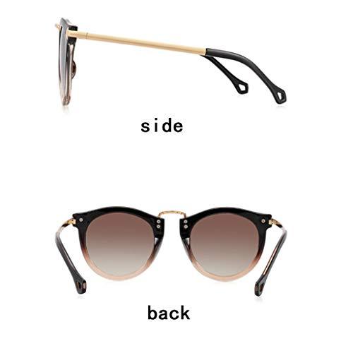 Léger Rétro Verres Convient Femme Polarisées Tac sunglasses B Visage Uv400 Soleil Tous 100 De Lunettes Pour Protection Types Les À Zhyxj PcOqwI66