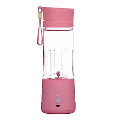 Portable Lightweight Personal Juicer Smoothie Blender Rechargeable Battery Operated Cordless