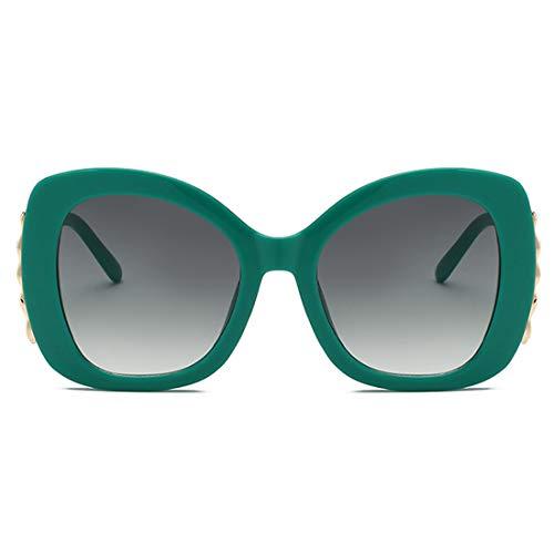 De Et Rétro Vert Mode Simple Soleil Muchao Lunettes Femmes Hommes qCw6ZZ