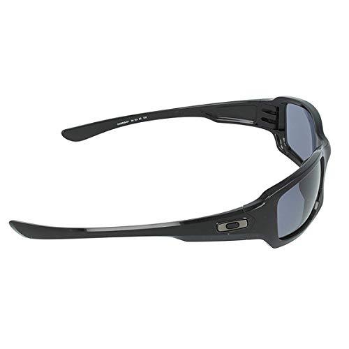 Oakley Men's Fives Squared OO9238-04 Rectangular Sunglasses, Polished Black, 54 mm by Oakley (Image #1)