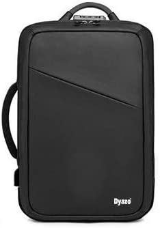 Dyazo Design 3 Type Anti Theft Backpack/Breifcase/Office Bag Anti Theft Laptop Backpack for 15.6 Inch Laptop, 22 L Bagpack/Suitable for Office,Travelling, Designed for Unisex (Jet Black)