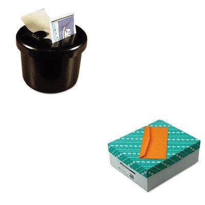 KITLEE40100QUA11562 - Value Kit - Quality Park Kraft Envelope (QUA11562) and Lee Ultimate Stamp Dispenser (LEE40100) by Quality Park