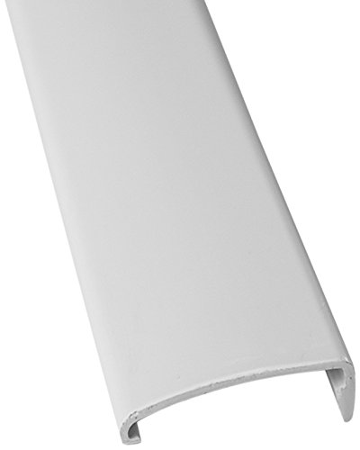 Lippert 326191 Snap Trim Screw Cover White 76'' by Lippert Components