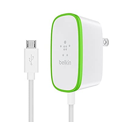 Belkin Wall Charger for Universal/Smartphones - White from Belkin Inc.