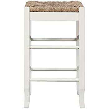 Boraam 94324 Square Rush Seat Counter Height Stool 24-Inch White  sc 1 st  Amazon.com & Amazon.com: Boraam 94324 Square Rush Seat Counter Height Stool 24 ... islam-shia.org