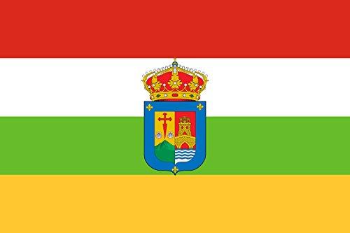 DIPLOMAT-FLAGS La Rioja Bandera | bandera paisaje | 0.06m² | 20x30cm Banderas de Coche