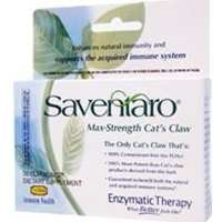 Enzymatic Therapy Saventaro Max-Strength Cat's Claw -- 30 Vegetarian Capsules by Enzymatic