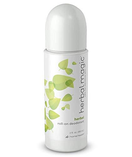- Home Health Herbal Magic Herbal Deodorant (3 Pack) - 3 fl oz - Long Lasting Protection Roll-On Deodorant, Gentle & Safe for Sensitive Skin - Non-GMO, Paraben-Free, Vegan