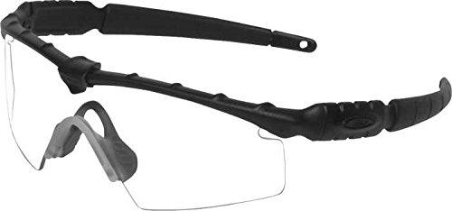 Oakley - M Frame - Standard Issue Ballistic Black Frame- Clear Lenses - Oakley E Frame Lens