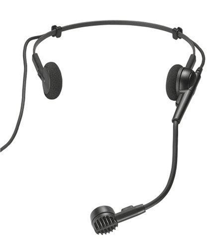 Audio-Technica PRO 8HEx Hypercardioid Dynamic Headworn Microphone, XLR Connector