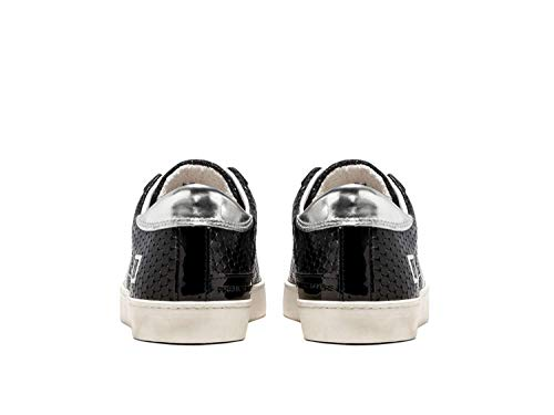 In D Pong Nero Black 27559 Low Pelle Sneakers Scarpa t Hill a e Donna v4w1Yvrq