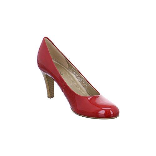 Gabor da donna in acciaio INOX laccato con tacco 25,210,70 rosso