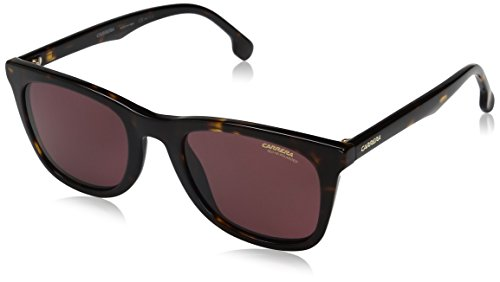 - Carrera Men's Ca134s Wayfarer Sunglasses, Havana/Burgundy Polarized, 51 mm
