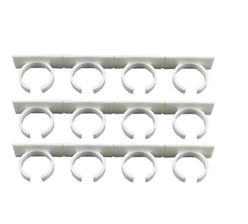 Especias–Estante de pared 4pcs/set 20Ganchos para puerta de clóset Especias pared rack de almacenamiento de...