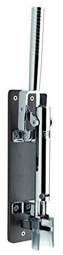 BOJ Professional Wall-mounted Corkscrew with Wood Backing Model 110 (Chrome Plated)