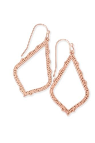 Kendra Scott Women's Sophia Earrings Rose Gold/Metal Earring