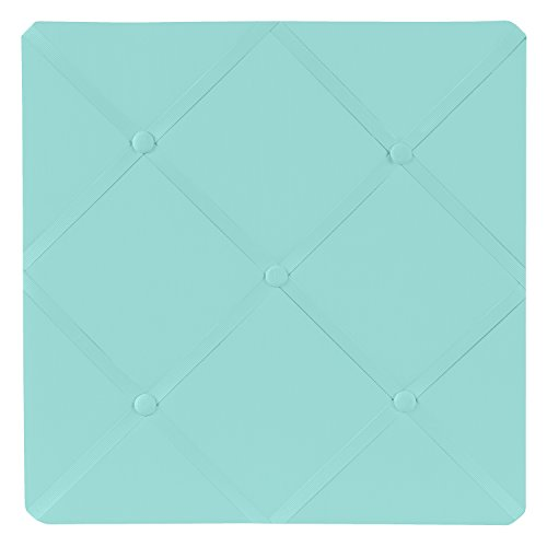 Fabric Photo Board (Sweet Jojo Designs Turquoise Blue Fabric Memory/Memo Photo Bulletin Board by)