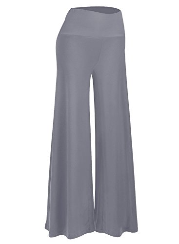 - Arolina Women's Stretchy Wide Leg Palazzo Lounge Pants (Color 1,XXL)