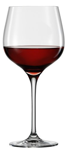 Eisch Superior Grand Burgundy Sensis Plus Lead-Free Crystal Wine Glass, Set of 2, 24-Ounce