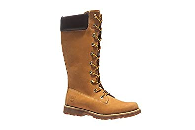 Timberland Youth Asphalt Trail Classic Tall Wheat Nubuck Boots 4.5 US