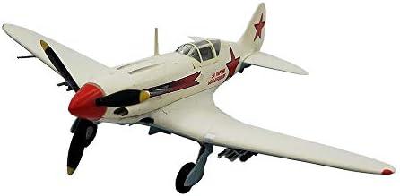 1/72スケール戦闘機プラモデル、軍用WWII MIG-3ソビエトファイターアダルトグッズやギフト、5.6Inch X 4.5I